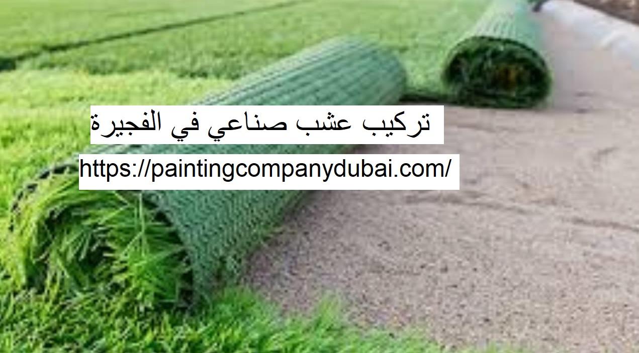 تركيب عشب صناعي في الفجيرة